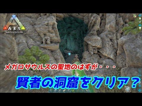 Island 洞窟 Ark