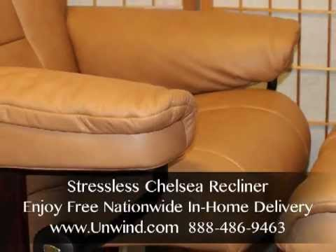 Stressless Chelsea- Taupe Paloma- Free In-Home Delivery