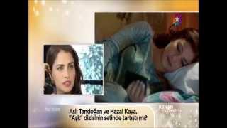 Aslı Tandoğan, Hazal Kaya ile kavga etti mi?