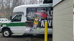 North Central Area Credit Union on an RCTA bus!
