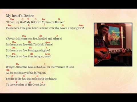 My Hearts Desire By Jim Styan With Chords Youtube