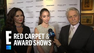 Michael Douglas & Catherine Zeta-Jones Support Daughter Carys | E! Red Carpet & Award Shows