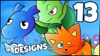 Cloud Designs 13 | Pokémon Ethereal Gates Starters