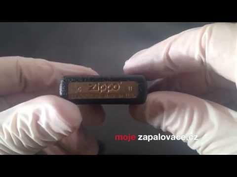 Mojezapalovace - Zippo Black Crackle