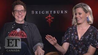 James Gunn, Elizabeth Banks On 'Brightburn'