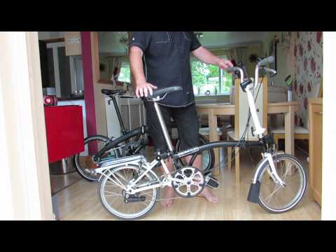 Brompton Vs Dahon Folding Bikes