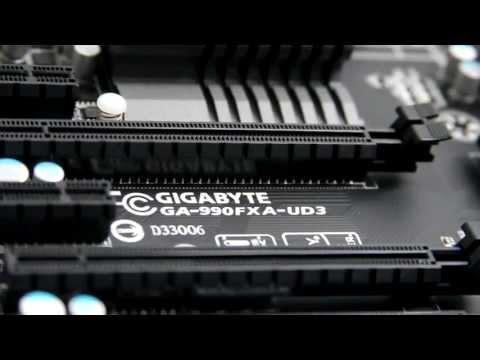 Gigabyte GA-990FXA-UD3 Motherboard -High End Overview!