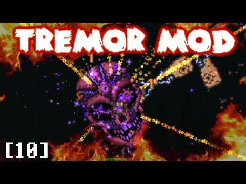 Terraria's New CRAZY boss!!  Tremor Mod Let's Play Part 10