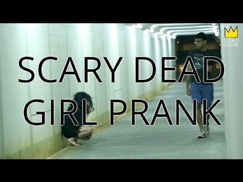 Scary Dead Girl Prank Singapore
