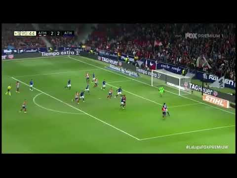Gol de godin atletico Madrid VS bilbao
