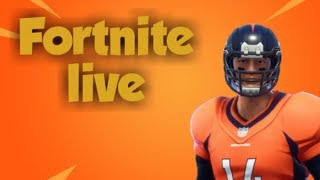 Fortnite Live Playing with subs, The Return Challenges, NFL Skins are Back (EU)