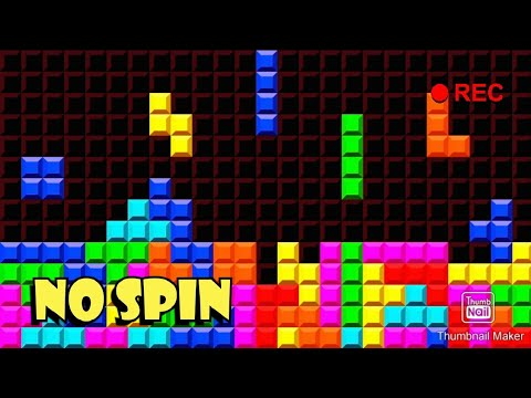 Tetris, But I CAN'T SPIN