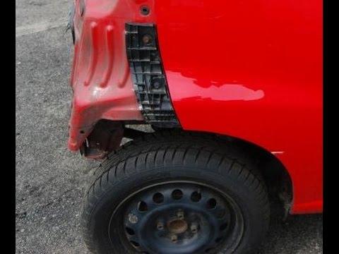 Toyota Auris 2016 >> Jak wymienić ślizg w tylnym zderzaku - Aygo, Citroen C1, Peugeot 107 - YouTube