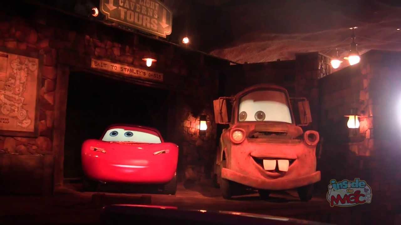 Full Ride: Radiator Springs Racers in Cars Land at Disney California ...