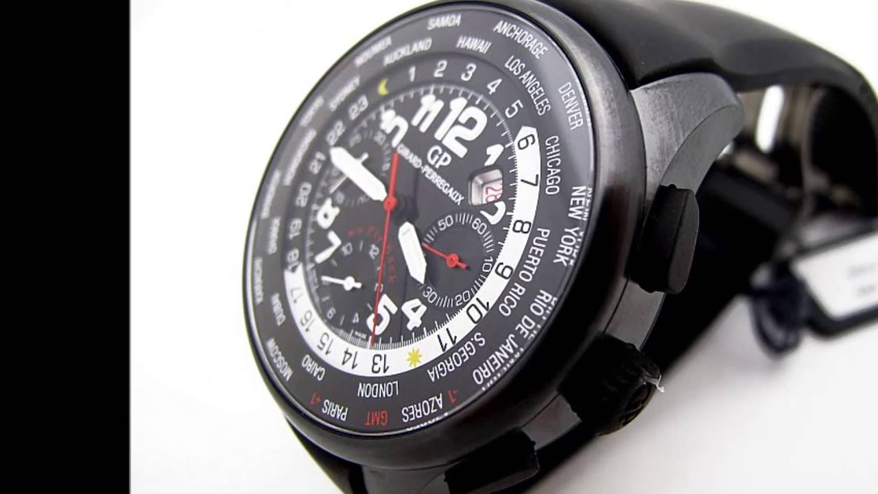 Girard Perregaux WW.TC World Time Flyback Chronograph