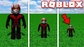 BECOMING ANT-MAN IN ROBLOX | Roblox - Super Hero Tycoon