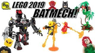 2019 DC FIREFLY!! LEGO BATMAN BATMECH 76117 SET REVEALED!