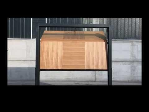 Beau Domina Overlap Trackless Sectional Garage Door