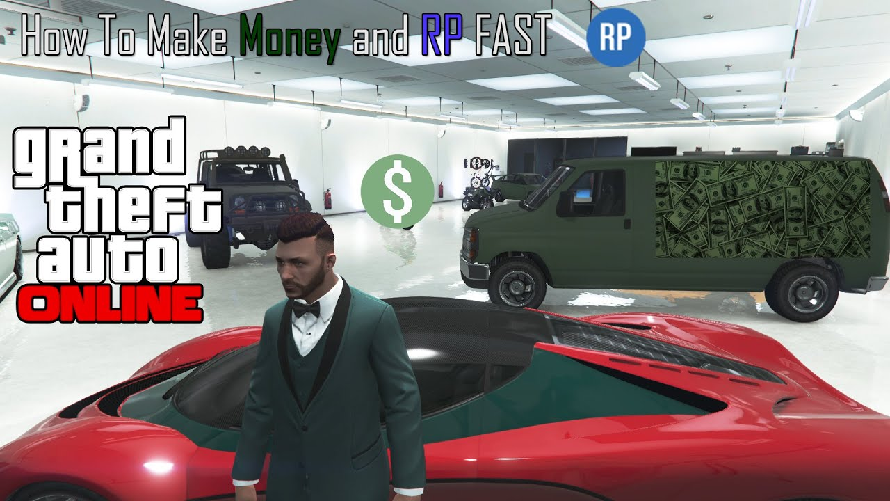How To Make Money and Earn RP Fast on GTA Online! EASY - YouTube
