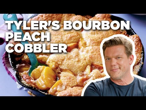 How to Make Tyler's Bourbon Peach Cobbler | Food Network