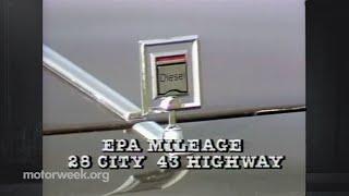 MotorWeek | Retro Review 1984 Oldsmobile Cutlass Ciera Diesel