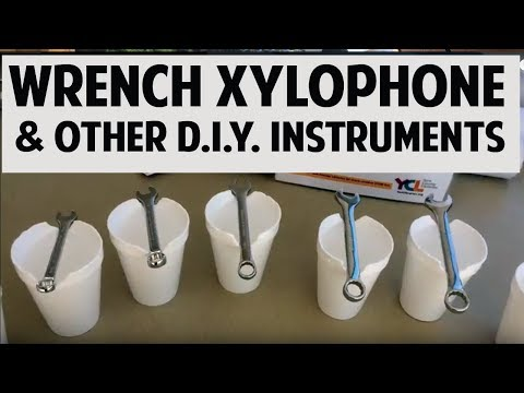 Wrench Xylophone and other DIY instrument ideas
