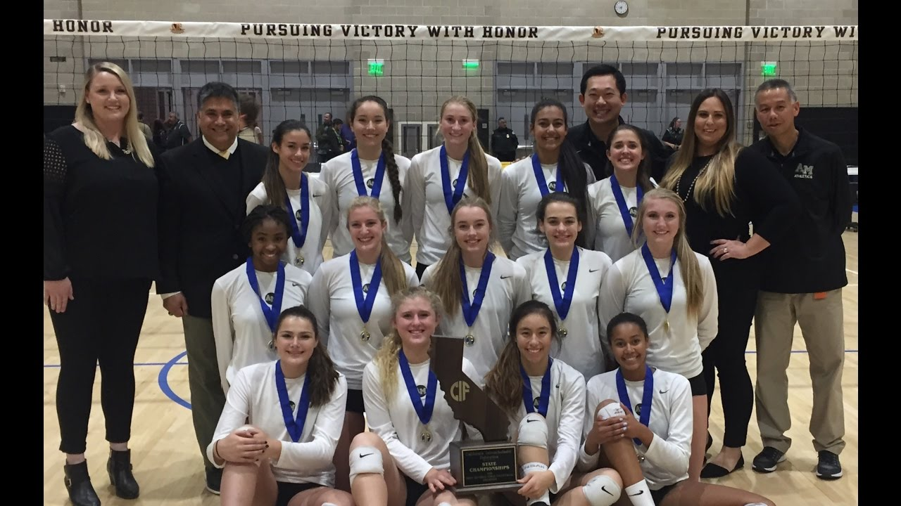 Archbishop Mitty Women S Volleyball 2016 Open Division Volleyball Championship Youtube