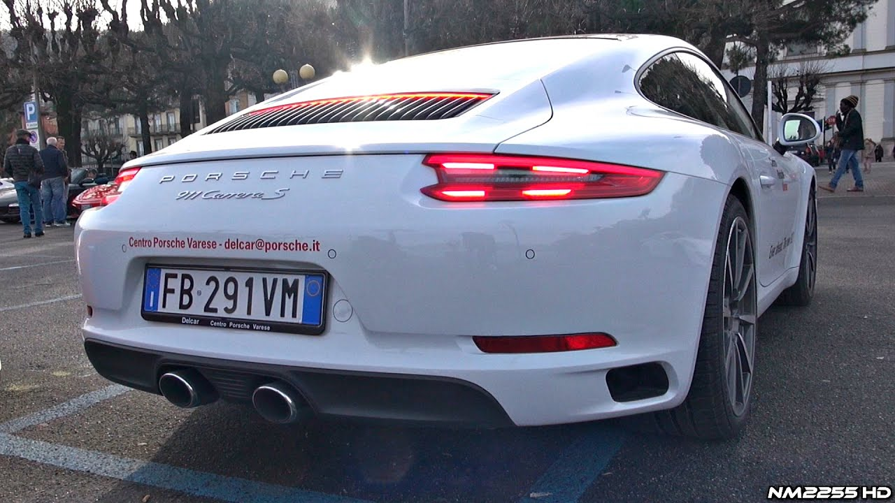 2016 Porsche 991 Carrera S MK2 30L Turbo Exhaust Sound  Start Up