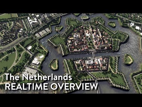 Cities Skylines - The Netherlands (Realtime Overview)
