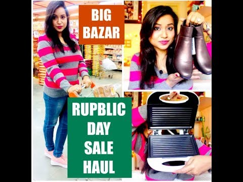 BIG BAZAR REPUBLIC DAY SPECIAL OFFER SALE ( सबसे सस्ता ) HAUL