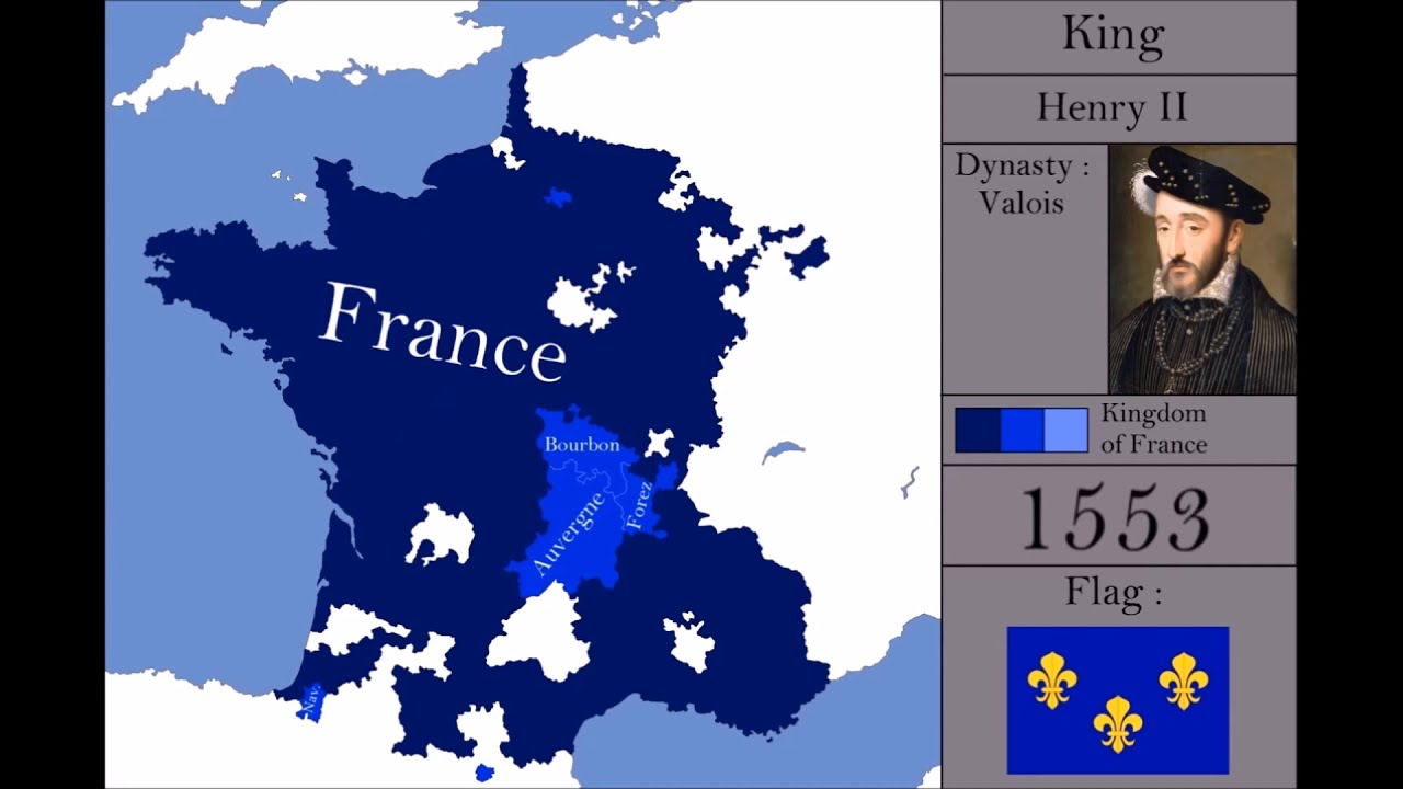 the history of france every year youtube