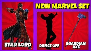 New Avengers Endgame Set: STAR LORD SKIN in Fortnite