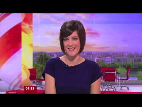 Female BBC News Presenters Montage 2013