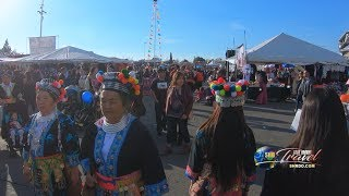 SUAB HMONG TRAVEL:  Walk through 2018-19 Fresno Hmong New Year - OPENING DAY