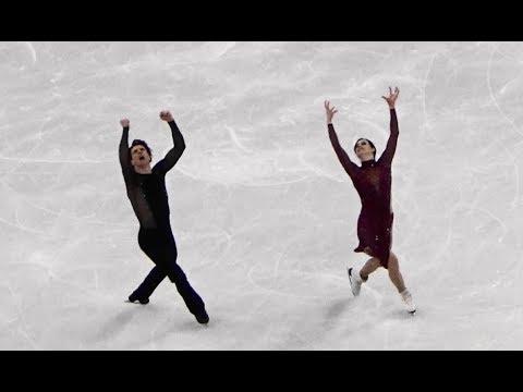 2018 平昌 PyeongChang Virtue Tessa & Moir Scott  Figure Skating Team Ice Dance Free