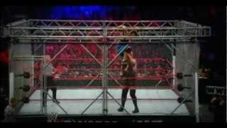 WWE No Way Out   John Cena vs. Big Show - Steel Cage Match Highlights 2012