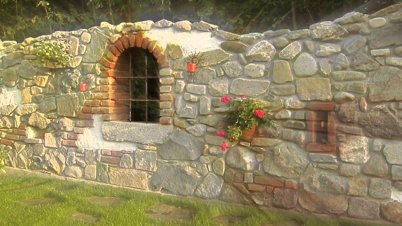 Gartenmauern Gestalten Ideen gartenmauer gestalten bilder hang hinter der mauer gestalten