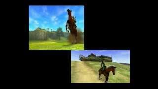 3DS Vs N64 Zelda Ocarina Of Time Trailer Comparison