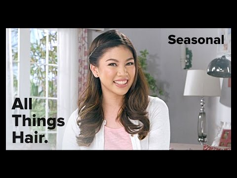 Summer Side Part by CLEAR featuring Janina Vela – All Things Hair