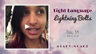 Light Language - Lady Nuage - Lightning Bolt #34