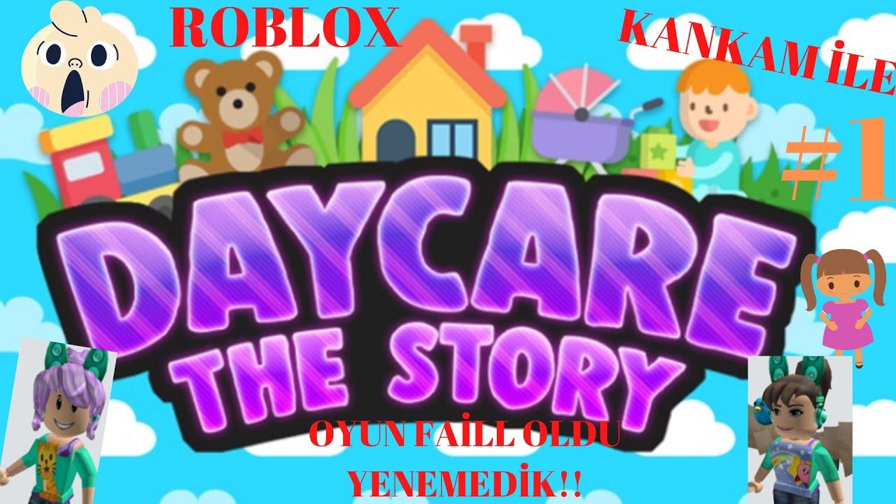 Kankamla DAYCARE STORY!!#1 Oyun FAİLL Oldu!!! Yenemedik.. FİNAL yapamadık...!!!😮😕 // ROBLOX//
