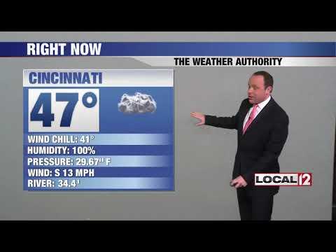 WKRC Local 12 News - Good Morning Cincinnati Saturday - First Weather - Saturday 11/24/18