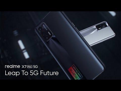 realme X7 Max 5G | Leap to 5G Future
