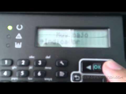 AVISO DE TONER BAJO HP 1212FN