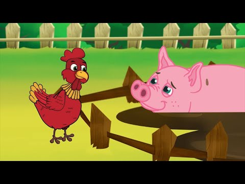 The Little Red Hen   Bedtime Stories for Kids in English   Storytime