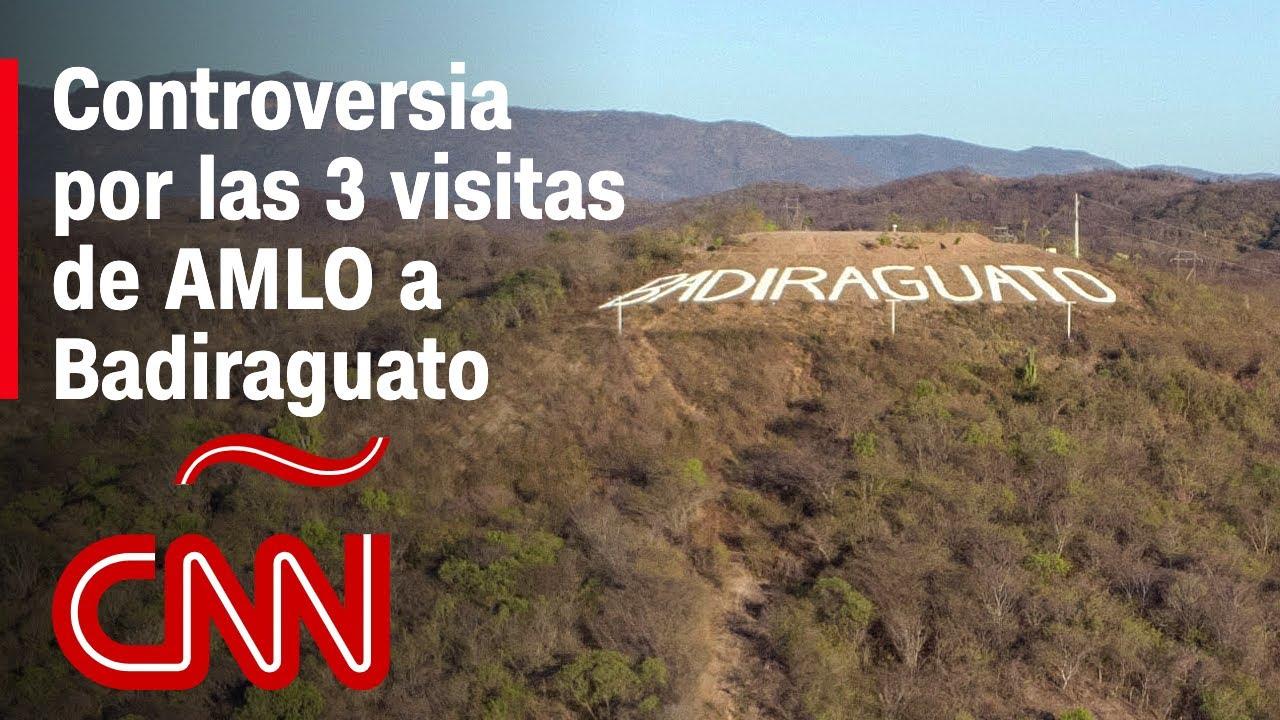 """AMLO visita Badiraguato por tercera vez, la tierra donde nacieron narcos como """"El Chapo"""""""