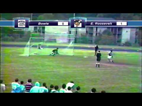 Bowie vs Eleanor Roosevelt Soccer (1982)