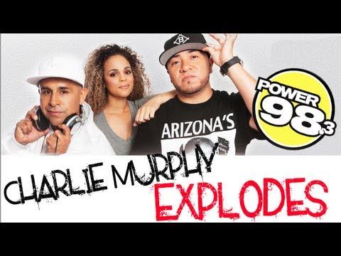 Charlie Murphy Explodes on Magic City Radio