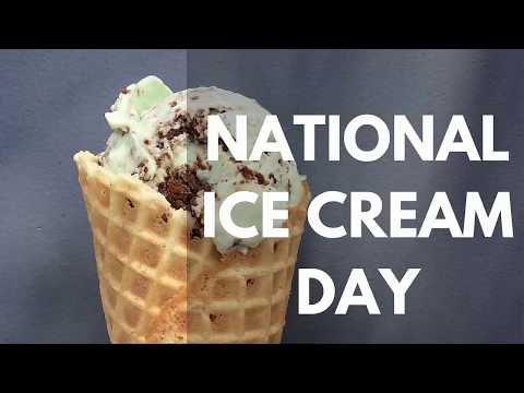 National Ice Cream Day 2017
