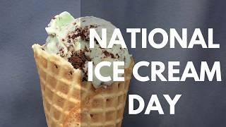 National Ice Cream Day 2017